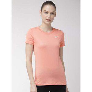 NWT Nike Dri-FIt Legend Crew Neck Tee Shirt Pink S
